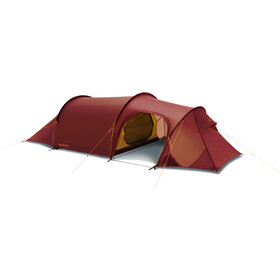 Nordisk Oppland 3 Light Weight Teltta, burnt red